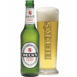 calories in beck beer