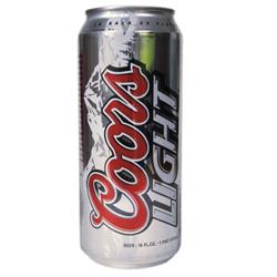 coors beer calories