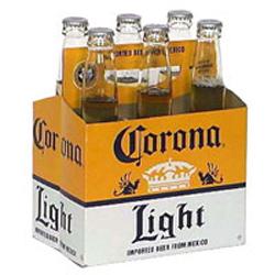 beer calories corona light