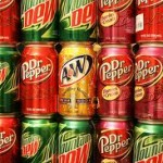 Calories in beverages: sodas, pepsi, root beer, lipton tea, mountain dew
